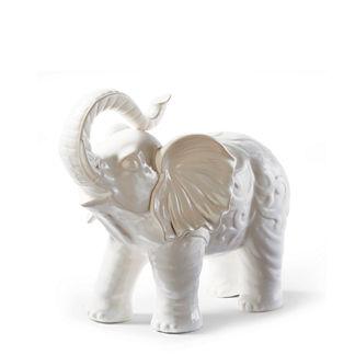 Ceramic Elephant Statue