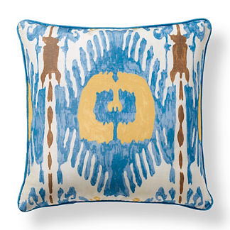 Scalamandre Oasis Sky Outdoor Pillow