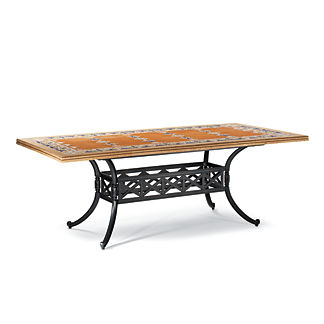Italian Tile Dining Table