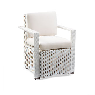Vida Dining Arm Chair with Cushion by Porta Forma, Special Order