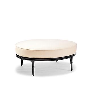 Wilshire Oval Ottoman Cushion