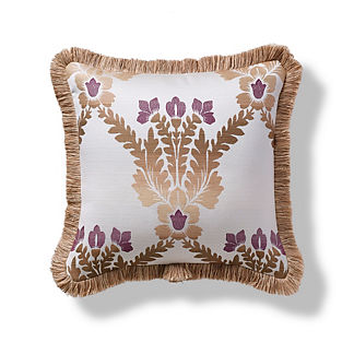 Everette Frame Plum Outdoor Pillow