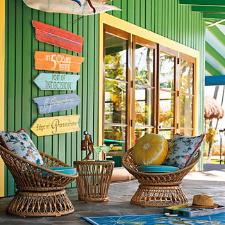 Margaritaville Set of Two Mirage Lounge Chairs