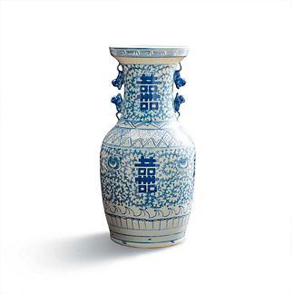 Chinoiserie Happiness Vase