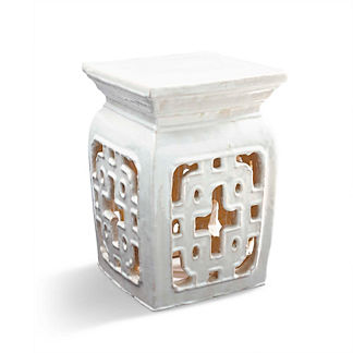 Square Ring Garden Accent Table