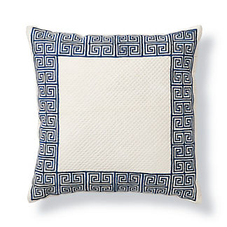 Greek Key Decorative Pillow