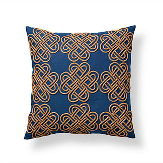 Jute Knot Linen Pillow