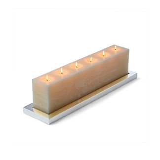Holden Long Brick Candle Holder by Porta Forma