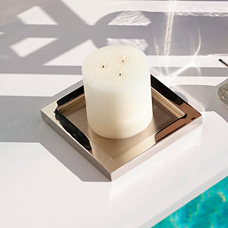Holden Block Candle Holder by Porta Forma