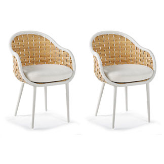 Ravello Dining Arm Chair Cushion by Porta Forma