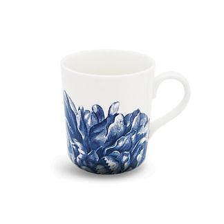 Blue Peony Mug