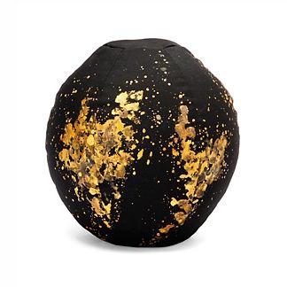 Gold Flecks Sphere Outdoor Pillow by Porta Forma