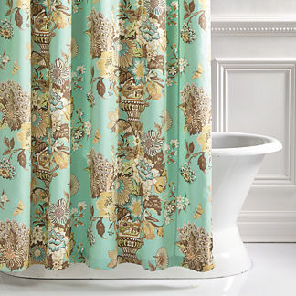 Portobello Vase Shower Curtain