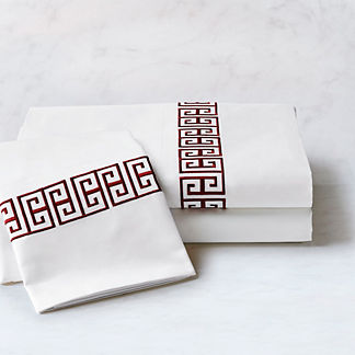 Resort Greek Key Tile Sheet Set