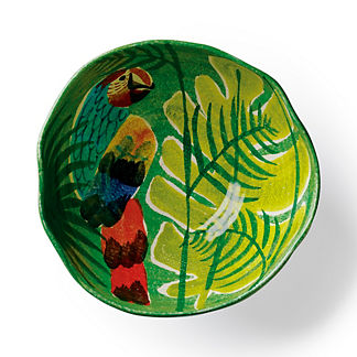 Tropicale Parrot Serving Bowl