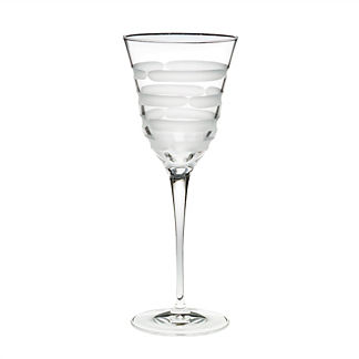 Optical Wine Glasses, Set of Four