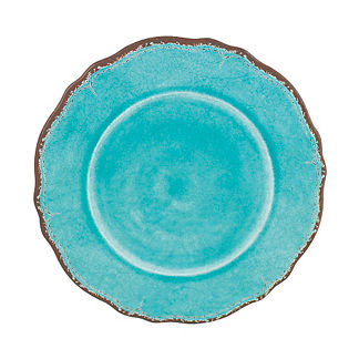 Antiqua Dinner Plates, Set of Four