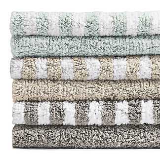 Reversible Stripe Bath Rug