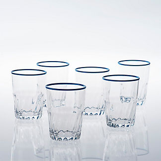 Cantina Double Old Fashioned Glasses, Set of Four