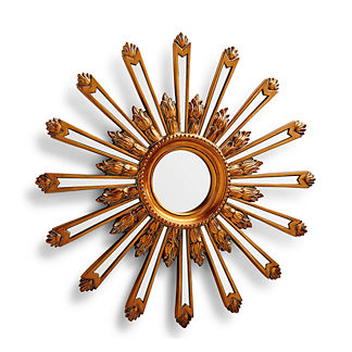 Faceted Sunburst Mirror