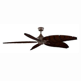 Anastasia Ceiling Fan with Leaf Wood Blades