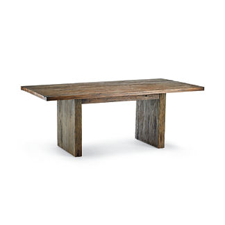 Barlow Distressed Wood Dining Table