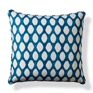 Brissac Blue Decorative Pillow