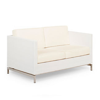 Metro Loveseat with Cushions by Porta Forma