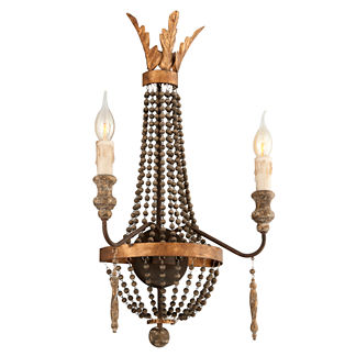 Delacroix 2-light Wall Sconce