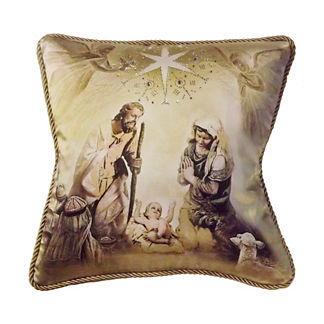 Holy Family Pillow