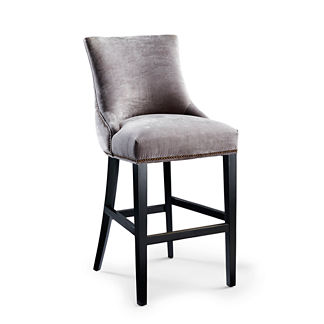 Barclay Tufted Bar Height Bar Stool (32-1/2