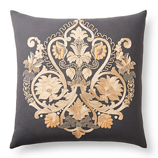 Embroidered European Decorative Pillow
