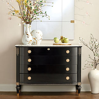 Regency Bow Front Chest