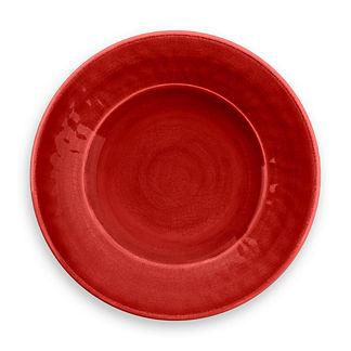 Glazed Crackle Salad Plates, Set of Four