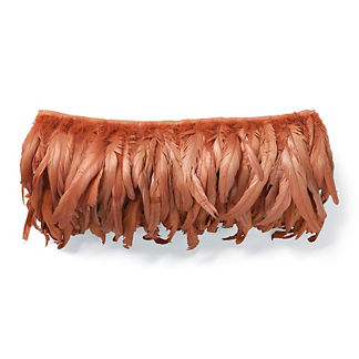 Rooster Tail Feather Decorative Pillow