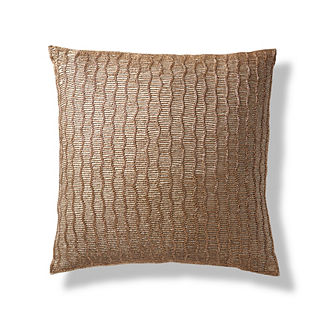 Beaded Chainlink Decorative Pillow