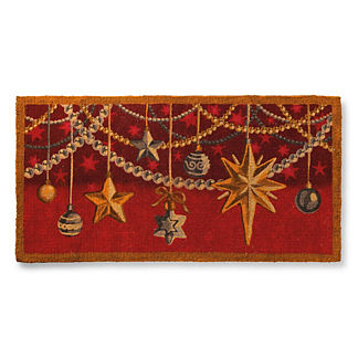 Holiday Sparkle Coco Mat