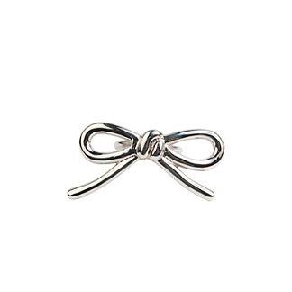 Kim Seybert Metal Bow Napkin Rings, Set of Four