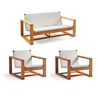 Laurent 3-pc. Loveseat Set by Porta Forma