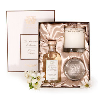 Antica Farmacista Damascena Rose Diffuser & Candle