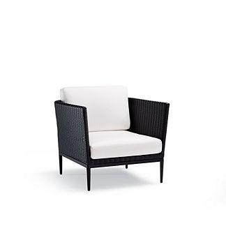 Palazzo Carbon Lounge Chair with Cushions by Porta Forma
