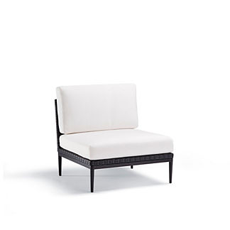 Palazzo Carbon Set of Two Center Chairs with Cushions by Porta Forma