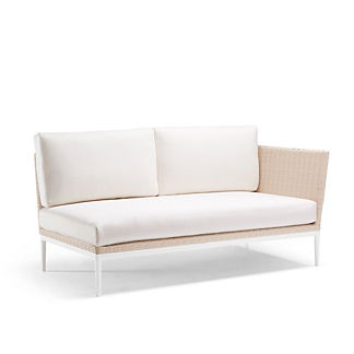 Palazzo Shell Right-facing Sofa with Cushions by Porta Forma, Special Order