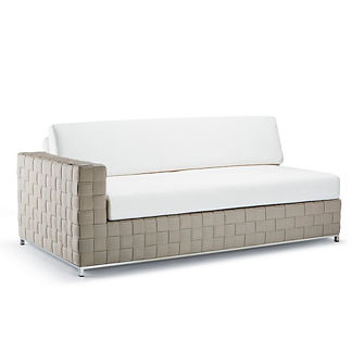 Luciano Left-facing Sofa with Cushions by Porta Forma