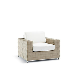 Luciano Lounge Chair with Cushions by Porta Forma, Special Order