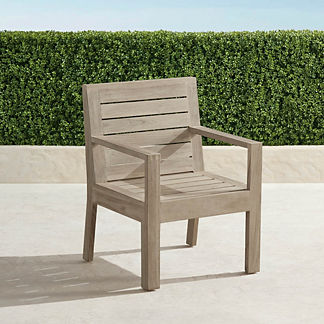 St. Kitts Set of Two Dining Arm Chairs