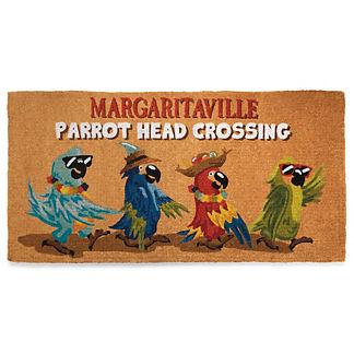 Margaritaville Parrot Head Crossing Coco Mat