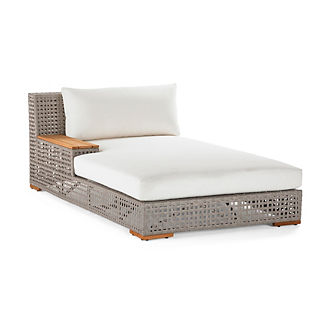 Palisades Left-facing Chaise Lounge with Cushions