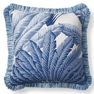Atherton Palm Pacific Outdoor Pillow