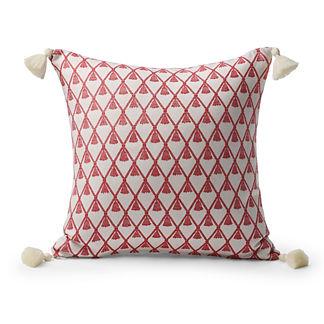 Deco Tassel Petal Outdoor Pillow
